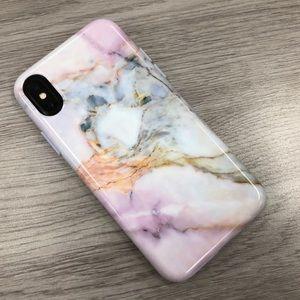 VELVET CAVIAR iPHONE X MARBLE CASE